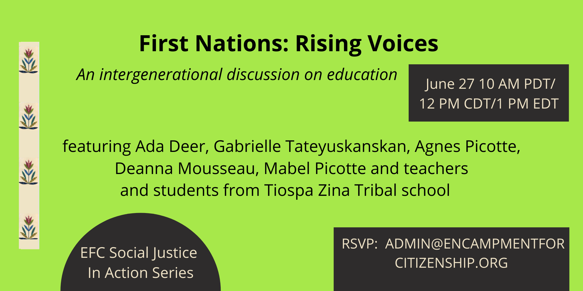 First Nations: Rising Voices on Education